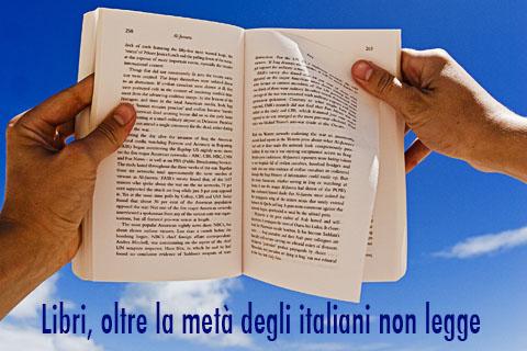 Libri, oltre la metà degli italiani non legge
