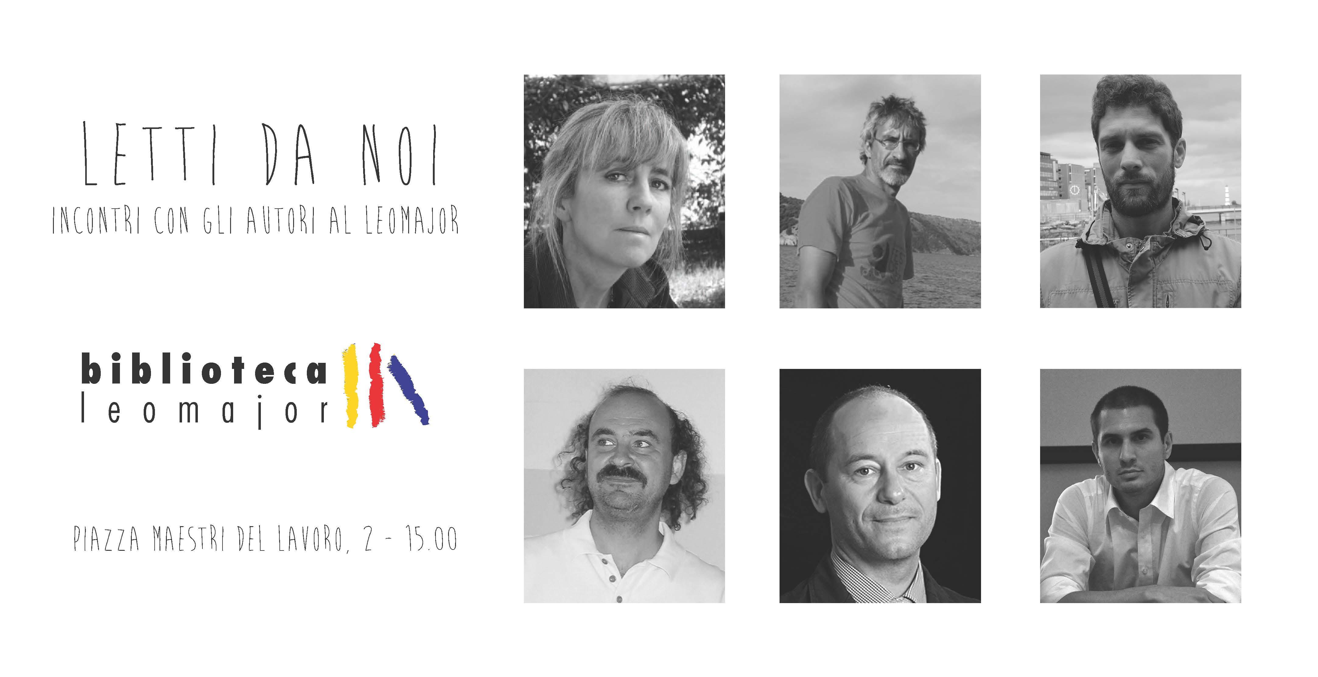 Letti da noi – Incontri con gli autori al Leomajor