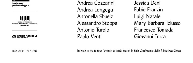 Alla Festa di Poesia di Pordenone leggeranno tre ragazzi del Gruppo poesia Leomajor: Andrea Cozzarini, Jessica Deni e Alessandro Stoppa