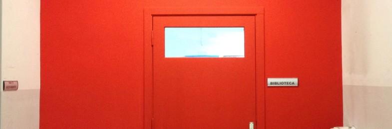 Ecco la nuova parete dell'ingresso della nostra biblioteca!